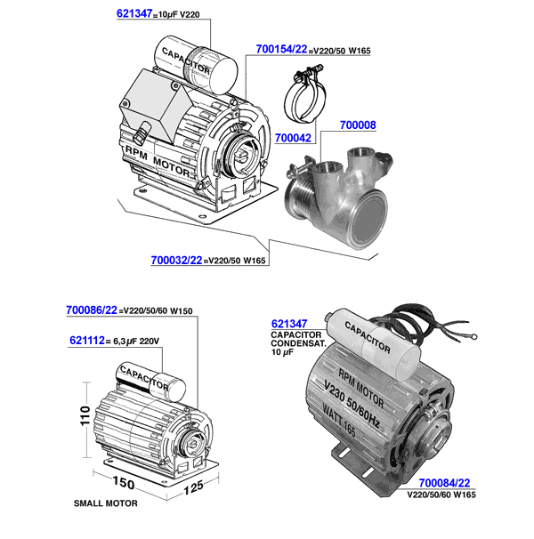 ECM - Motors and rotary pumps