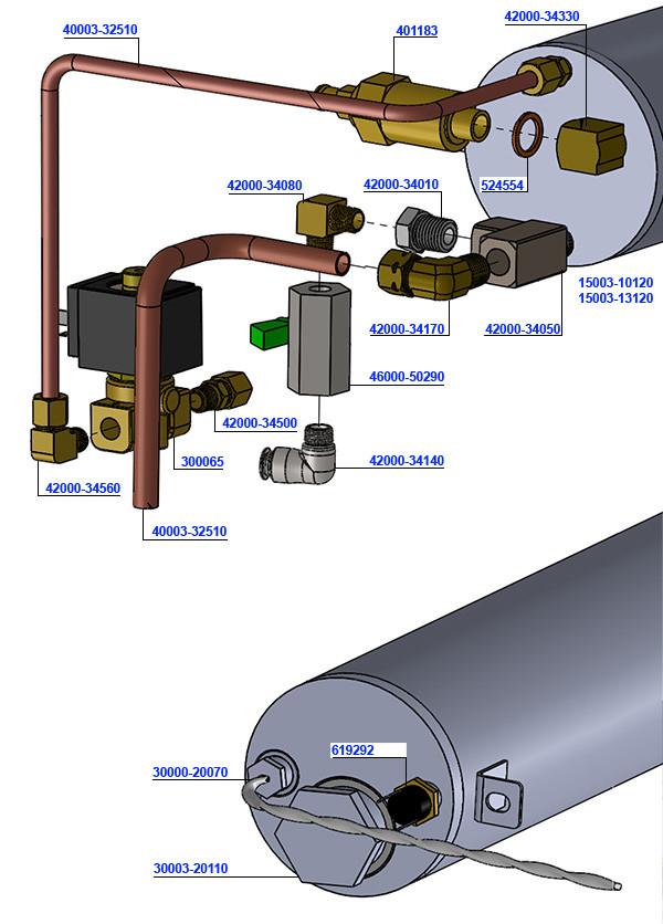 Pre heat Tank Assembly V3