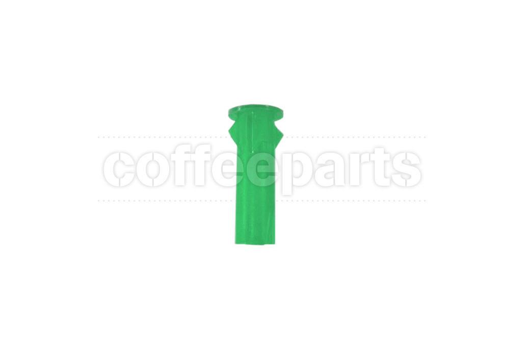 Green cover for light