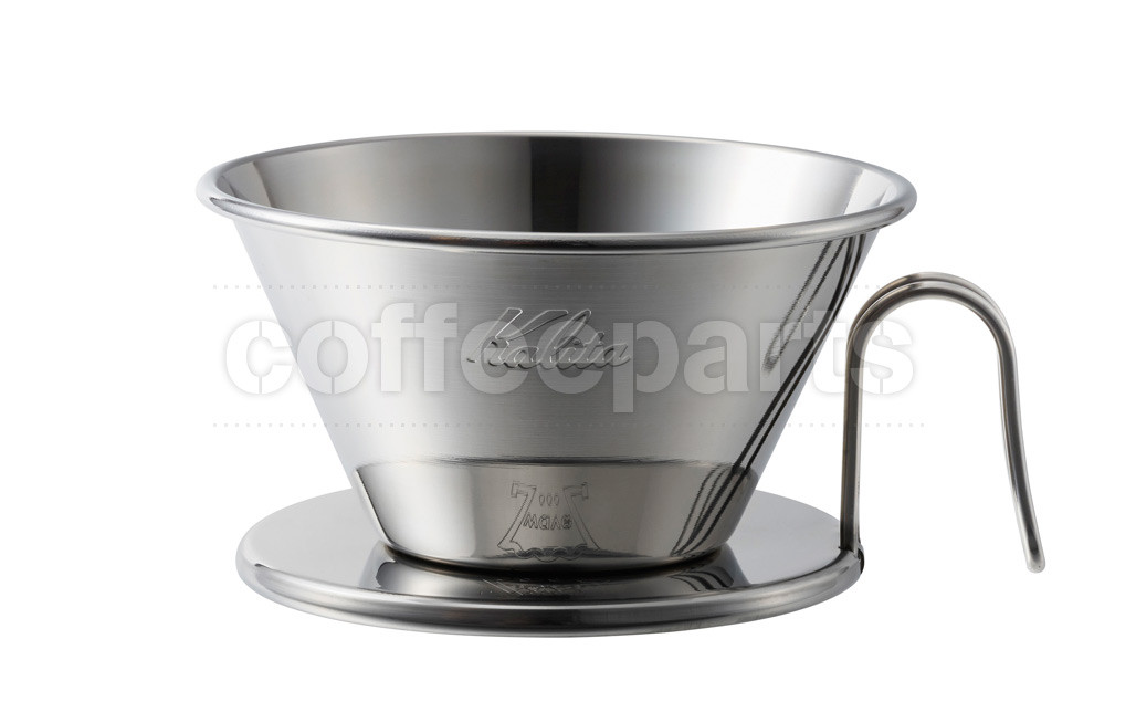 Kalita 185 Tsubame Stainless Wave Filter Coffee Dripper WDS-185