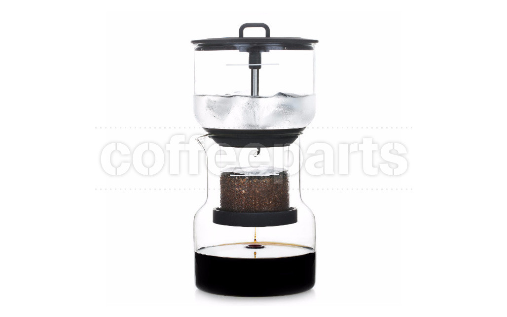 Bruer Black Cold Brew Slow Drip Coffee Maker System