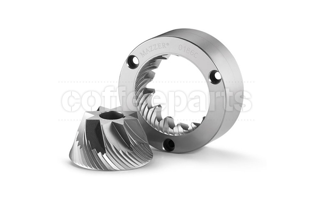 Blades/burrs conical burrs monophase mazzer 71mm right hand (rh)