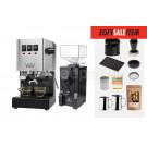 EOFY SALE - Gaggia Classic Espresso Machine Package