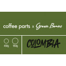 Coffee Parts x Green Beans, Organic Colombia Popayan Excelso
