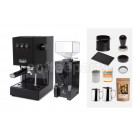 Gaggia Classic Espresso Machine Package: Black