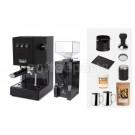 Gaggia Classic Espresso Machine Package: Black
