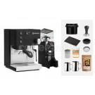 Rancilio V6 Espresso Machine Package: Black