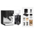 Rancilio V6 Espresso Machine Package: Black