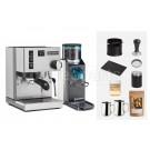 Classic Rancilio V6 Espresso Machine Package