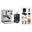 Rancilio V6 Espresso Machine Package: Silver