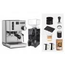 Rancilio V6 Espresso Machine Package: Silver