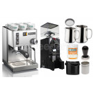 Starter Espresso Coffee Machine Package