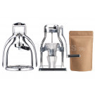 ROK Starter Kit inc Rok v2 Coffee Maker, Rok Hand Grinder, 250g Coffee