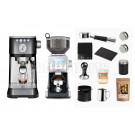 Solis & Breville Home Barista Machine Package: Black