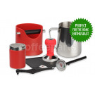 XMAS SALE - Crema Pro Red Barista Kit for machines with 58mm filter baskets