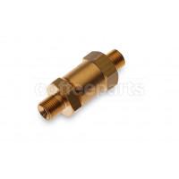 One-way valve complete