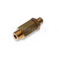 One-way valve 3/8 - 1/4 inch bsp