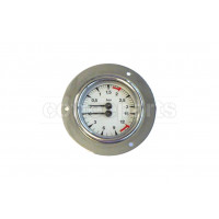 Double scale manometer/gauge 60mm