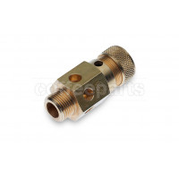 Certified boiler safety valve with 3/8 inch bsp thread