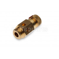 Certified boiler safety valve with 1/2 inch bsp thread