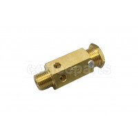 Certified boiler safety valve with 1/8 inch bsp thread