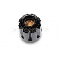 Black knob no stop 1mm pitch