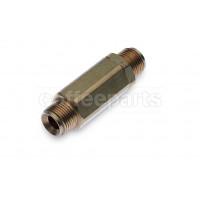 Pump one-way valve 3/8m - 3/8m inch bsp