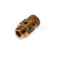 Boiler safety valve with 3/8 inch bsp thread
