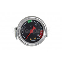 manometer/gauge ele80 52mm 15atm