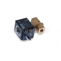 2-way PARKER solenoid valve 1/8-1/8 inch bsp 220v (complete)