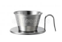 Kalita Tsubame Stainless Wave Dripper 155