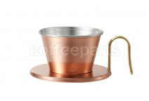 Kalita Tsubame Copper Wave Dripper 155