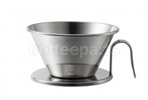 Kalita Tsubame Stainless Wave Dripper 185