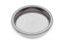 Blind filter 58mm stainless steel