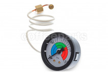 Boiler manometer/gauge 1/8 inch bsp with capillary pipe