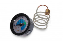 Pump manometer/gauge 1/8 inch bsp with capillary pipe