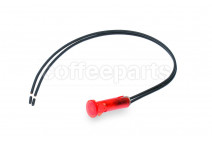 Red pilot lamp with wire 10d 220v