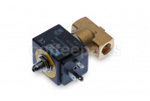 3-way PARKER solenoid valve 1/4-1/4 inch bsp 220v 50/60 (complete)