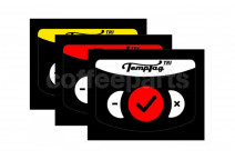 TempTag TRI stickon thermometer pack