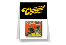 Batman Geisha badge - Caffiend