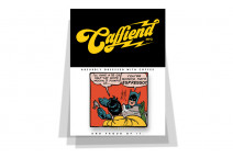 Batman Espresso badge - Caffiend