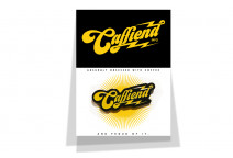 Caffiend logo badge - Caffiend