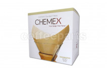 Chemex Bonded Filters Pre-folded Natural Squares (100 Per Pack)