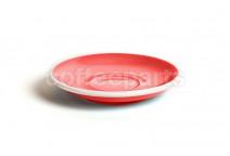 Acme standard saucer, 145mm diameter, colour: red