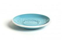 Acme latte saucer, 155mm diameter, colour: blue