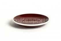 Acme latte saucer, 155mm diameter, colour: brown