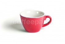 Acme 160ml flat white cups, colour: red