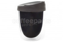 Uppercup 12oz re-usable cup, colour: black