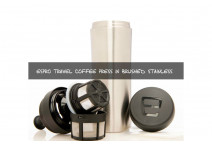 Espro Coffee Travel Press - Silver