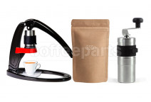 Flair ready to go Kit inc Flair, Porlex Mini Grinder and 250g Coffee